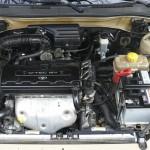 Двигатель после мойки
